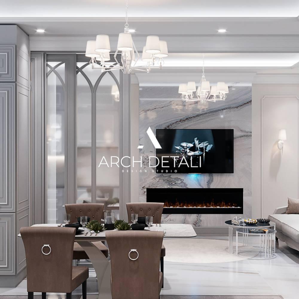 Готовый дизайн-проект квартиры - объект 5